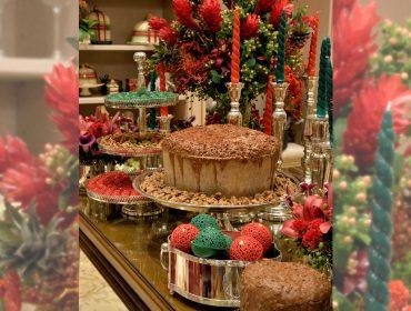 Giganttone recheado de Nutella é destaque em evento de Natal de Stefan Behar