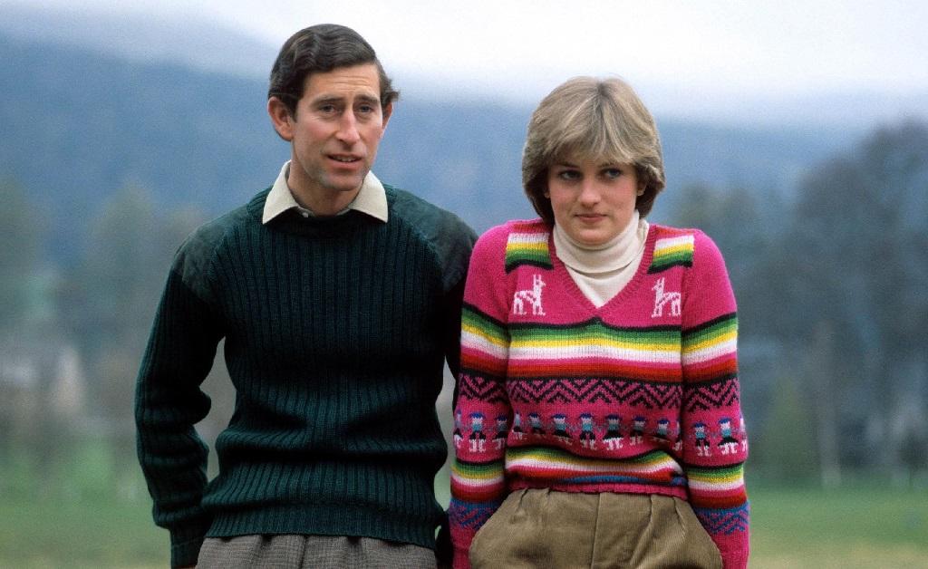 Charles e Diana em seu primeiro ano juntos