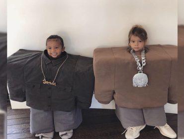 A pequena North West quebra a internet repetindo peripécia do pai, Kanye West. Entenda!