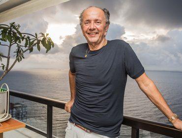 David Bastos comemora aniversário com almoço agitado em Salvador