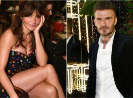 David Beckham curtiu o fim de semana em Miami festando ao lado de Helena Christensen…