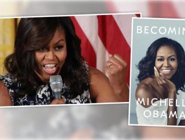 Livro de memórias de Michelle Obama bateu recorde de vendas nos EUA neste fim de semana