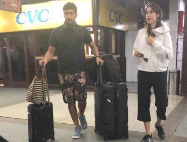 Thaila Ayala e Renato Góes acabam de desembarcar em hotspot para curtir o Réveillon. Qual?
