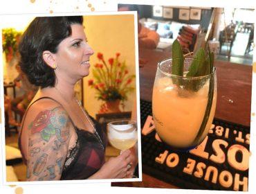 Mixologista Talita Simões cria o drink especial para o Glamurama em Trancoso