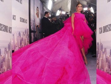 Jennifer Lopez recorre a van para dar pivô em première em Nova York. O motivo?