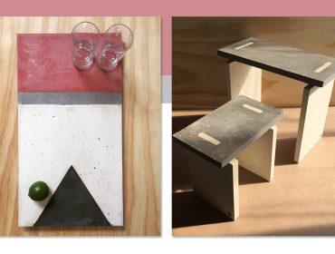 dpot objeto apresenta peças de concreto criadas com exclusividade pela Traço Objetos