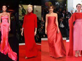 Cor-de-rosa e vermelho foram destaques entre as celebs mais bem vestidas do ano