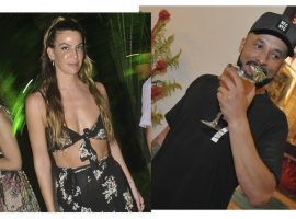 Em Trancoso, Bianca Brandolini e o empresário de futebol Ale Ramalho estão se conhecendo melhor