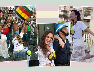"""Claudia Leitte lança samba reggae """"Saudade"""" com participação de Olodum e do rapper Hungria"""