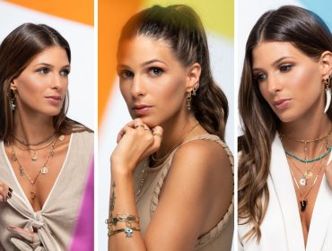 Anna Fasano é o rosto da nova coleção leve e alto astral de Carolina Neves