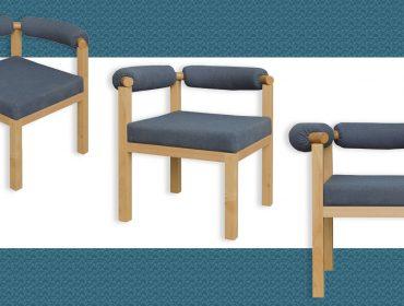 Lá em Casa: cadeira Maria inspirada na trajetória de Maria Bethânia