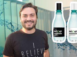 Filipe Sabará lança linha de produtos de beleza com embalagem reutilizada. Vem saber!