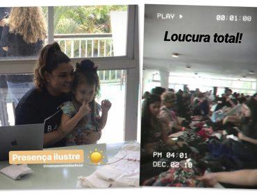 Com super apoio de Bruna Marquezine, Bazar da Preta Gil causa frisson no Rio de Janeiro