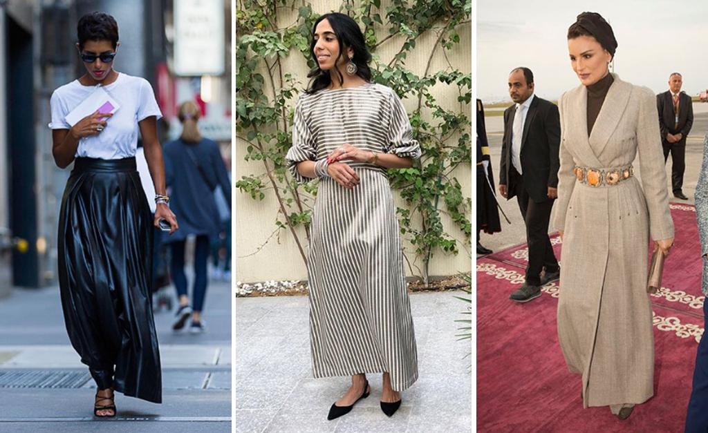 86c00a1435c32 Princesa Deena, da Arábia Saudita, princesa Dana Al Khalifa, do Barhain, e  Moza Bint Nasser, do Qatar    Reprodução Instagram