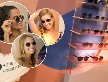 7b2dea66f2cbf Maxi óculos e lentes coloridas  vem ver os queridinhos do cocktail ...