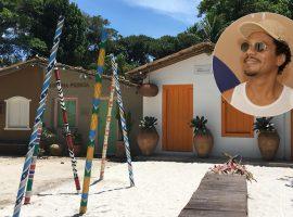 Criar um símbolo da cultura de Trancoso é tema de workshop com o artista local Valquito Lima
