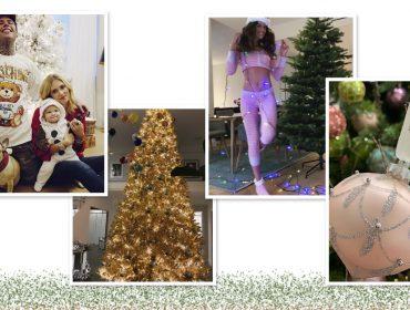 Então é Natal! De Victoria Beckham aCatherine Zeta-Jonesconfira as árvores de Natal dos famosos
