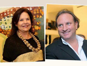 Nara Roesler e Alex Allard armam jantar com menu estrelado em Miami