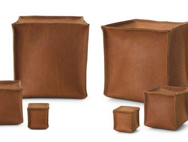 Rahyja Afrange assina peças de couro em coleção exclusiva para a dpot objeto