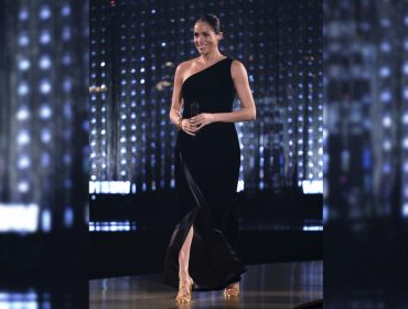Meghan Markle segue passos de Lady Di e marca presença no British Fashion Awards