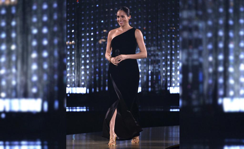 dec5d8542 Meghan Markle na cerimônia do British Fashion Awards 2018 || Créditos:  Getty Images