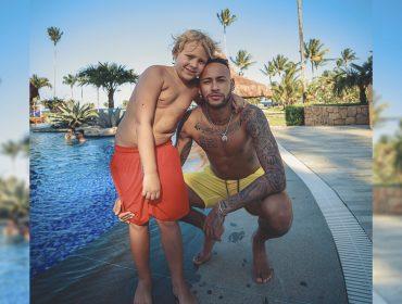 Neymar usa imagem do filho em 'publi' em suas redes e gera polêmica. Entenda