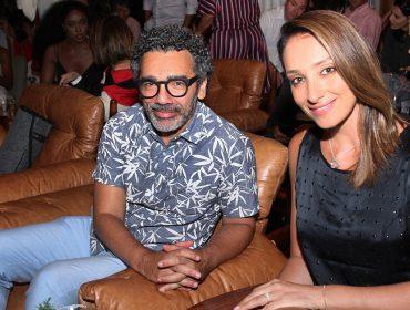 Sabrina Parlatore e Wilson Simoninha formam o novo casal do pedaço