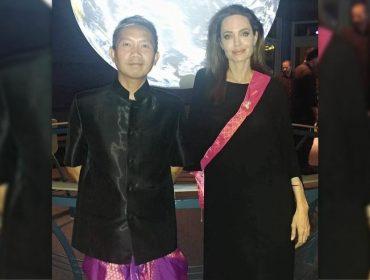 """Novo amor de Angelina Jolie pode ser um cineasta cambojano descrito como a """"alma gêmea"""" da estrela"""