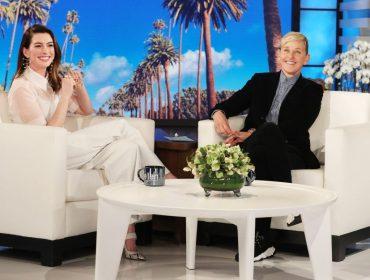Por causa de porre com Matthew McConaughey, Anne Hathaway só vai voltar a beber em 2037. Oi?