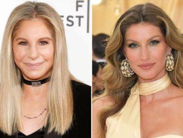 Gisele e Barbra Streisand serão homenageadas em Hollywood pela dedicação à causa verde