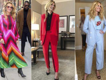 Novo closet! Com ajuda de stylist estrelada, Julia Roberts é a nova fashionista do pedaço