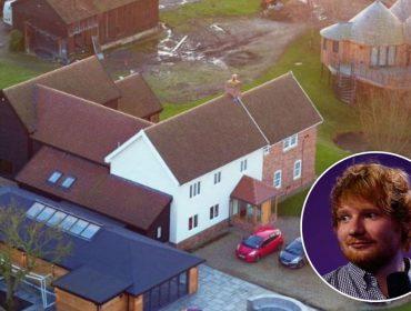 Por pouco! Bombeiros controlam princípio de incêndio em château de R$ 7,4 mi do cantor Ed Sheeran