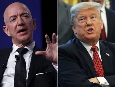 """Trump ironiza pulada de cerca de Jeff Bezos que pode custar ao bilionário metade da fortuna dele: """"Que peninha!"""""""