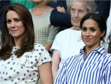 Suposta rivalidade entre Meghan Markle e Kate Middleton resulta em campanha contra o bullying virtual