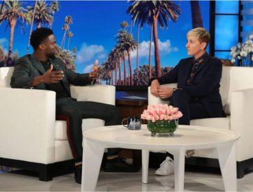 Por pressão da colega Ellen DeGeneres, Kevin Hart afirma que poderá, enfim, apresentar o Oscar