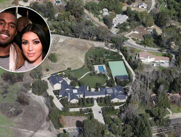 Reforma de mais de R$ 75 mi na mansão de Kim Kardashian e Kanye West chega ao fim