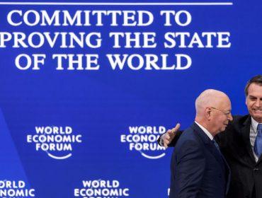 Fundador do Fórum Econômico Mundial diz que Bolsonaro causou boa impressão em Davos