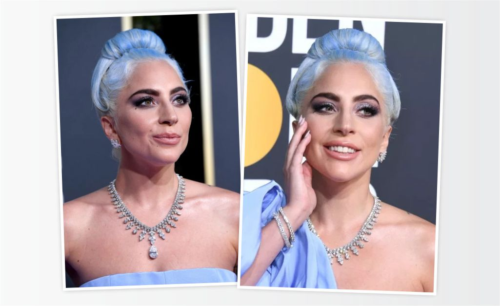 Lady Gaga exibe os brilhantes da Tiffany   Co.    Créditos  Getty Images 9bb23c5777