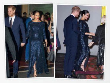 Meghan Markle escolhe look de R$ 27,6 mil para acompanhar Harry em evento beneficente