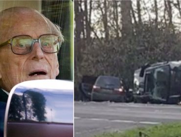 Aos 97 anos, príncipe Philip sofre acidente de carro e corre o risco de ser proibido de dirigir