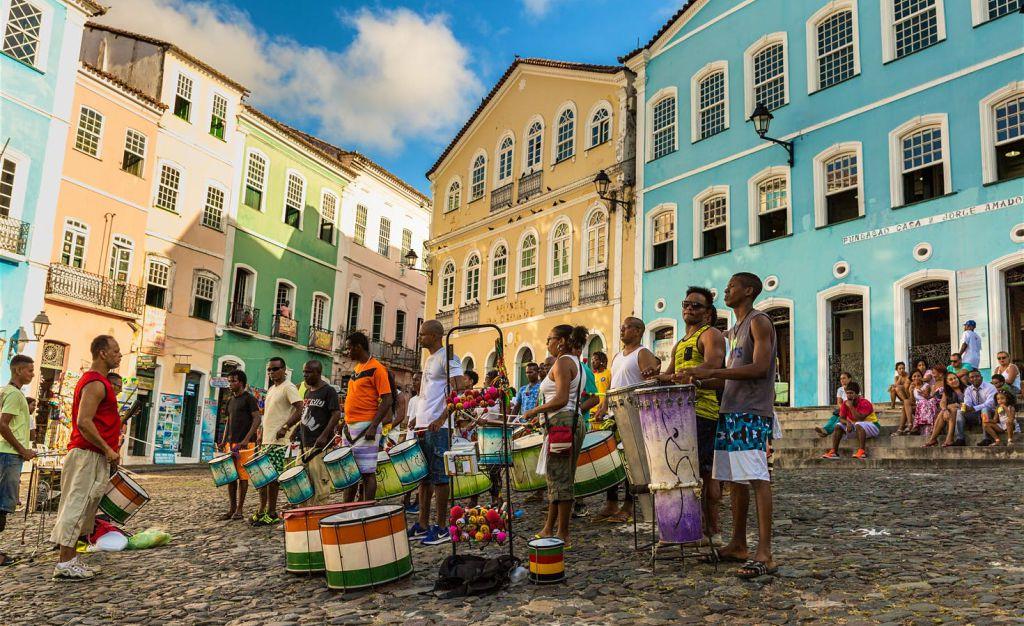 c33c022a72a44 O Pelourinho, no Centro Histórico de Salvador    Créditos  Getty Images
