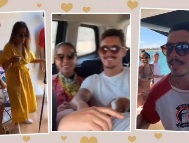 Assumidos? Anitta eRonan passam dias juntos e amigos não escondem o novo namorado da cantora