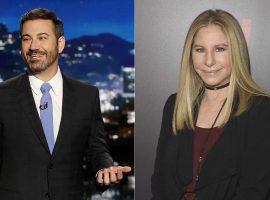 Senta lá, Jimmy…Barbra Streisand cancela aparição em programa por não gostar do ângulo. Oi?