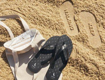 Johnnie Walker cria chinelo exclusivo para deixar sua pegada na areia