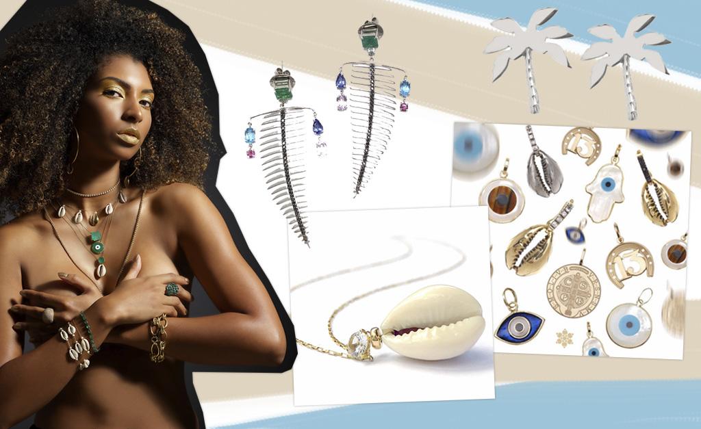906aa205c La Chica de Oro lança coleção inspirada nas praias da Bahia    Créditos:  Divulgação