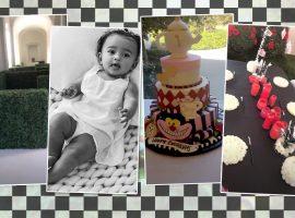 Alice no País das Maravilhas é tema da mega festa de aniversário de Chicago, filha de Kim e Kanye West