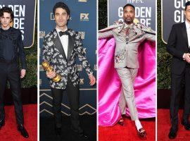 Globo de Ouro 2019: os homens mais bem vestidos da noite de premiação