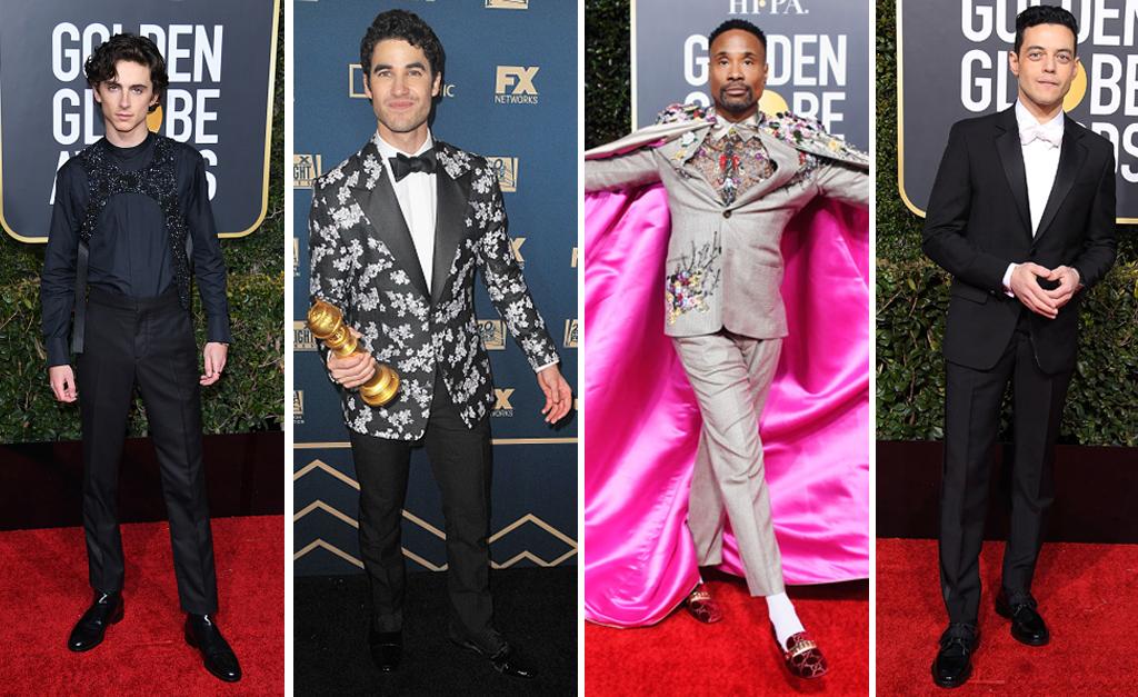 ccc79479c Quem disse que os homens não mandam bem nas escolhas fashion? || Créditos:  Getty Images. A festa anual do Globo ...