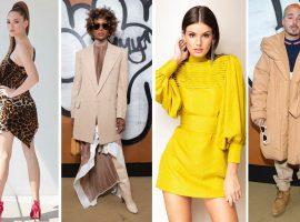 Os bem-vestidos da semana apontam um mix de anos 90 com tendências direto de Paris