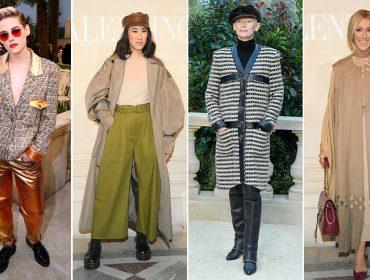 Quem foi a celebridade mais bem-vestida da Semana de Moda de Paris?
